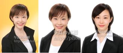 就職活動写真,東京,ES100%通過, 就職活動写真 8
