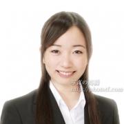 笑顔の就職活動写真
