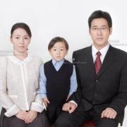 幼稚園受験 願書用 家族写真2