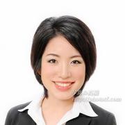 就職活動写真 笑顔 髪型ショート26
