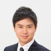 就活写真髪型男性01