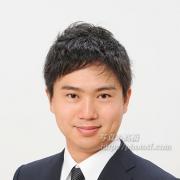 就職活動写真 男性髪型 前髪 例28
