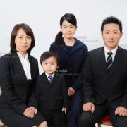 幼稚園受験用家族写真4