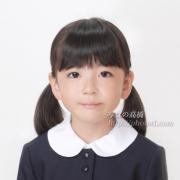 小学校願書写真 お受験写真 髪型 服装 例