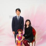 家族写真は江戸川区写真スタジオ