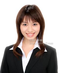 就職 アナウンサー 証明写真お見本 バストアップ 東京写真館 江戸川区フォトスタジオ 写真の高橋で人目惹く就職 写真をどうぞ