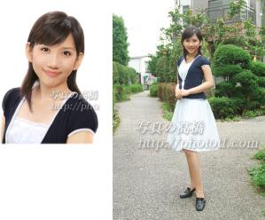 神戸からお見え下さいました 就職活動用 エアライン スナップ写真