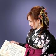 卒業袴写真,卒業式写真は江戸川区,小岩