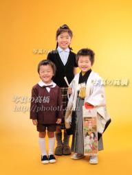 七五三 記念写真を姉弟で。東京江戸川 小岩 写真館