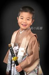 七五三 5歳の七五三写真は 東京 写真館 江戸川区 小岩のフォトスタジオでかっこよく