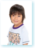江戸川区証明写真 キッズモデル 子供タレントオーディション写真見本5 坊やも自然で可愛い笑顔です