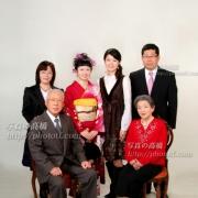 成人式家族写真小岩0019