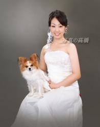 ペットと一緒の結婚式 ふたりだけで結婚式写真