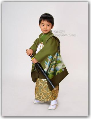 江戸川区 写真館で七五三写真 5歳 袴姿で記念写真 撮影 東京 江戸川区