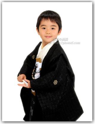 江戸川区写真館で七五三写真 5歳 袴姿の記念写真撮影 東京 江戸川区