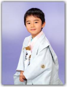 東京 江戸川区 七五三写真撮影 五歳 袴姿