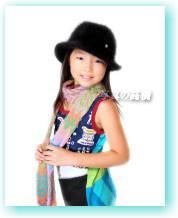江戸川区証明写真 子供モデルオーディション用写真