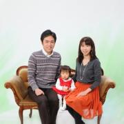 毎年恒例 家族写真