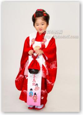 江戸川区写真館で七五三写真 3歳髪型のお見本に