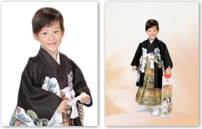 江戸川区写真館で七五三写真 五歳 記念写真