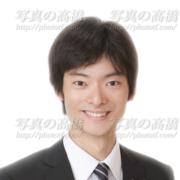 就職活動写真,男性,髪型
