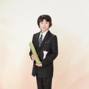江戸川区の写真館で卒業記念撮影