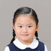 小学校受験写真 お受験三つ編み 髪型 服装 例