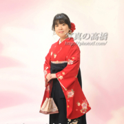 江戸川区,卒業式写真,袴姿