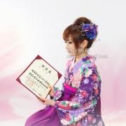 卒業式袴記念写真 江戸川区写真スタジオ