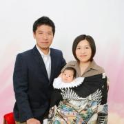 お宮参り写真 江戸川区1フォトスタジオ6