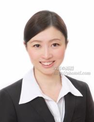 内資CA 受験の髪型,前髪 服装例