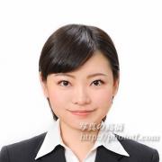 就職活動写真 髪型女性29 ショート例