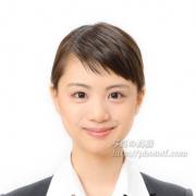 就職活動写真 髪型ショートカット例 3