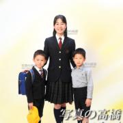 入学写真,御姉弟と,江戸川区写真館