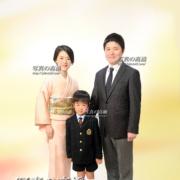 入学写真,家族写真は江戸川区写真館