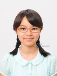 中学受験写真09 笑顔の表情で好印象