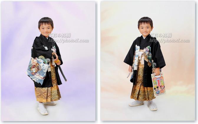 七五三記念写真 五歳 袴姿 東京江戸川区に写真館
