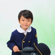 江戸川区写真館で入学写真,写真の高橋
