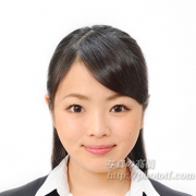 就職活動写真 ,髪型ハーフアップ39