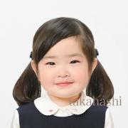 幼稚園 お受験写真