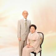 金婚式写真,生前遺影写真もあります。