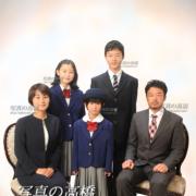 江戸川区,入学写真,家族写真,