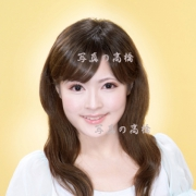 フジテレビ女子アナウンサーエントリーシート用スナップ証明写真,笑顔がキュート