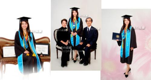 卒業写真 カリフォルニア大学