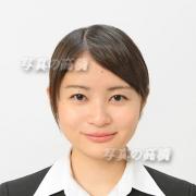 就職活動用写真24 就職活動写真,前髪