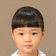 幼稚園受験写真,前髪見本に
