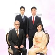成人式 家族写真 見本 写真の高橋