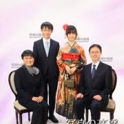成人式 東京でご家族写真見本30