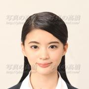履歴書用写真,髪型見本7