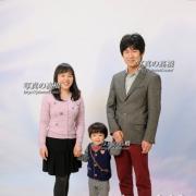 家族写真撮影,東京江戸川区の写真館,写真の高橋